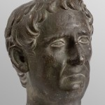 Портрет оца императора Трајана, бронза, Костол (Pontes), крај 1. века