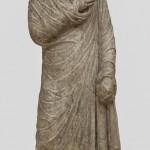 Портретна статуа жене, мермер, Сингидунум, крај 2 -почетак 3. века