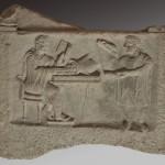 Рељеф банкара, мермер, Viminacium, 2. век