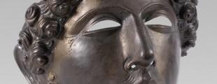 Шлем-маска, бронза, Смедерево, (Vinceia), крај 2. века