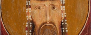 Srbija zemlja fresaka, Kralj Milutin, detalj, Bogorodica Ljeviška (1)