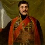 Урош Кнежевић, Карађорђе, 1854. уље на платну, 95,5 х 76 cm