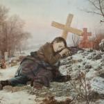 Урош Предић, Сироче, 1888. уље на платну, 100 х 124 cm