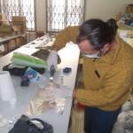 Узорковање лобање са Ајмане, јануар 2017, Археолошка збирка ФФ