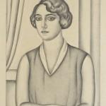 Живорад Настасијевић, Портрет Милице Николајевић, 1925