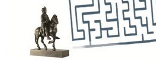 detalj, Karlo Veliki i lavirint