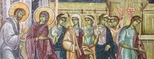 detalj Skrivalica na freski