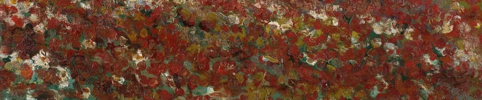 Надежда Петровић, Косовски божури, 1913, детаљ, Збирка југословенског сликарства 20. века