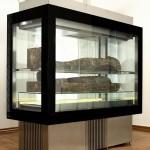 Beogradska mumija u specijalnoj vitrini, Narodni muzej u Beogradu
