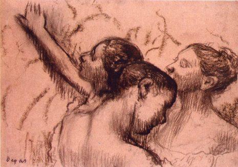 Едгар Дега, Три балерине, око 1889