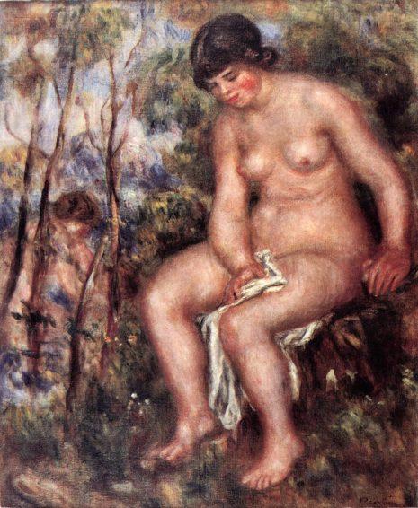 Ogist Renoar, Kupačica, kraj 19. veka – početak 20. veka