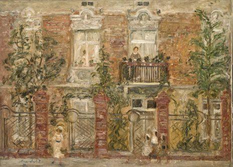 Предраг Пеђа Милосављевић, Бели прозори, 1936
