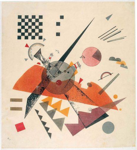 Василиј Кандински, Orange, 1923