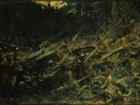 Furor Teutonicus - tragom nestale slike Paje Jovanovića