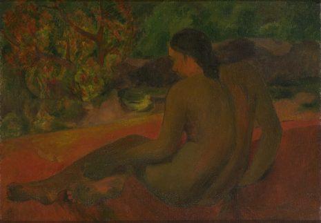 Пол Гоген, Тахићанка, 1898
