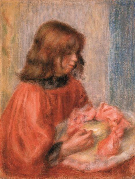 Pjer Ogist Renoar Devojčica sa šeširom,1898-1900