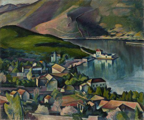 Petar Dobrović, Jadranski predeo, 1919-20
