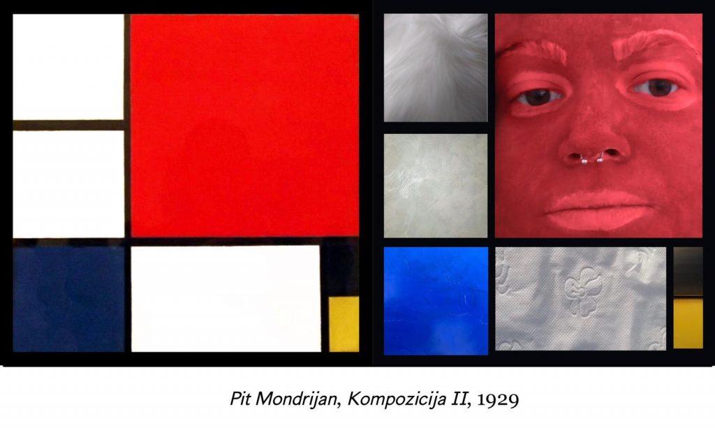 Anja Jocić - Pit Mondrijan, Kompozicija 2, 1929