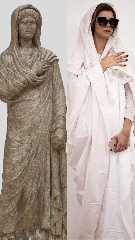 Angelina Ražnatović - Portretna statua žene kraj 2. početak 3. veka