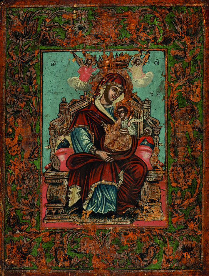 Bogorodica sa Hristom, XVIII vek