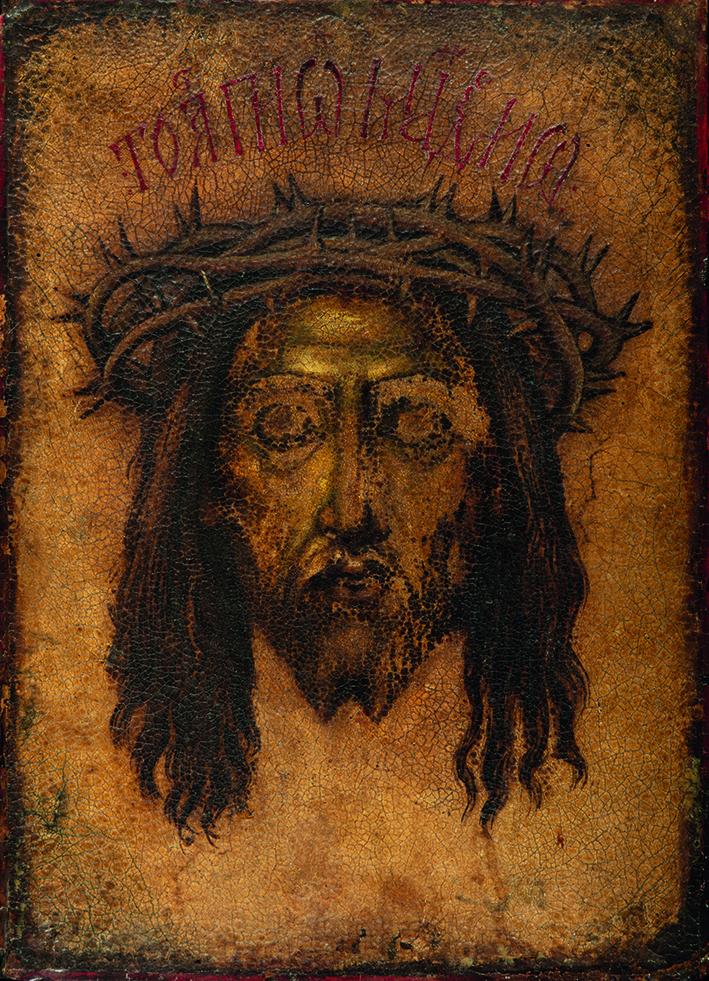 Nerukotvoreni obraz Hristov, pre 1520.